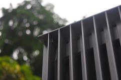 Architekturstahllamellen Stockbild