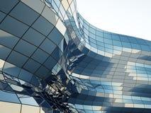 architektury abstrakcjonistyczna ściana Zdjęcie Royalty Free