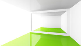 Architektury abstrakcjonistyczny minimalny tło Obrazy Royalty Free