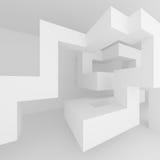 architektury abstrakcjonistyczny tło projekt white wewnętrznego Obrazy Stock