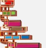 architektury abstrakcjonistyczny tło Obraz Stock
