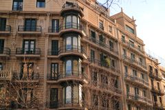 Architektury barcelonaise Obraz Royalty Free