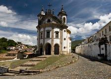 architektury baroku brazilian zdjęcia stock