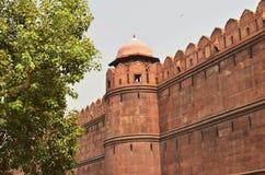 Architektury czerwieni fort Zdjęcia Royalty Free