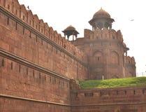 Architektury czerwieni fort Obrazy Royalty Free