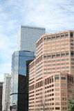 architektury Denver linia horyzontu Obrazy Stock
