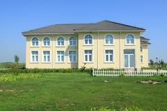 architektury europejczyka gazon Zdjęcie Stock