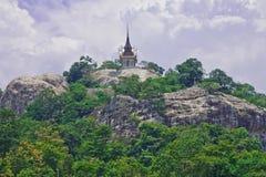 architektury góry stylu tajlandzki wierzchołek Fotografia Royalty Free