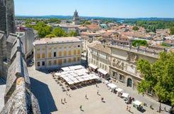 Architektury i zabytki Avignon zdjęcia royalty free