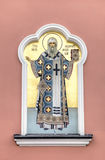 architektury katedralnego bóg święty Kiev miejsca serw trinity troyeshchina Saratov, Rosja Fotografia Stock