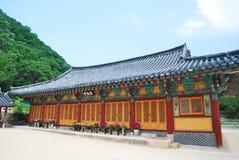 architektury koreańczyka świątynia obraz royalty free