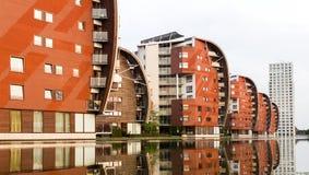 Architektury Mieszkaniowy mieszkanie Obrazy Royalty Free
