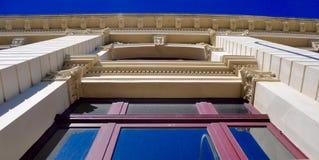 Architektury okno perspektywa Fotografia Stock