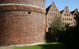 architektury północny ceglany europejski Zdjęcia Royalty Free