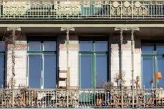 architektury sztuki nouveau Otto wagner zdjęcie stock