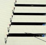 architektury tła budynku nagłego wypadku ucieczki ogienia schodki miastowi Obraz Stock