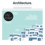 Architektury tła pejzaż miejski 3 Obraz Stock