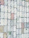 architektury tła zakończenia szczegółu kamienia tekstura Fotografia Stock