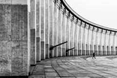 Architekturzusammensetzung kolonnade Lizenzfreies Stockbild
