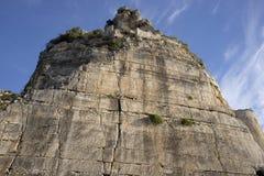 Architeptur rzymski w terracina obrazy stock