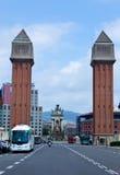 Architercure van Barcelona Royalty-vrije Stock Foto