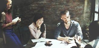 Architetto arredatore Meeting Concept di architettura di affari Immagine Stock Libera da Diritti