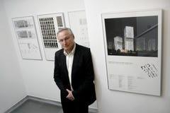 Architetto Carlo Baumschlager Fotografia Stock