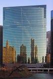 Architetto del Chicago sul fiume Fotografia Stock