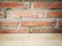 Architetto e interior design del muro di mattoni Immagini Stock Libere da Diritti