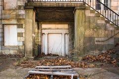Architettura abbandonata Fotografia Stock Libera da Diritti