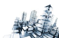 Estratto di architettura. Immagini Stock