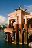 Architettura al ricorso di isola di paradiso Immagini Stock Libere da Diritti