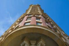 Architettura, alta casa di pietra Immagine Stock Libera da Diritti