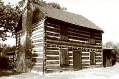 Architettura americana - cabina 1 Fotografie Stock Libere da Diritti