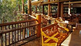Architettura & mobilia del legname Immagini Stock