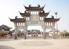 Architettura antica cinese Immagini Stock