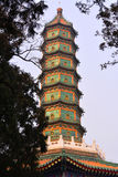 Architettura antica cinese fotografia stock