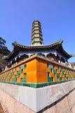Architettura antica cinese Fotografie Stock