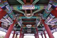 Architettura antica cinese Immagini Stock Libere da Diritti