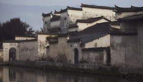 Architettura antica del cinese tradizionale Immagini Stock