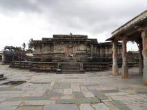 Architettura antica del tempio di keshava di chenna Fotografia Stock Libera da Diritti