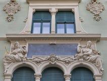 Architettura antica di Graz in Austria Immagini Stock Libere da Diritti