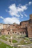 Architettura antica di Roma Fotografie Stock