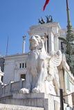 Architettura antica di Roma Fotografia Stock Libera da Diritti