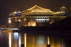 Architettura antica di stile cinese Immagini Stock Libere da Diritti