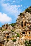 Architettura antica in Myra. La Turchia. Immagini Stock Libere da Diritti