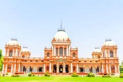 Architettura antica, Noor Mahal, Nawab di Bahawalpur Noor Palace, Bahawalpur, Pakistan fotografia stock libera da diritti