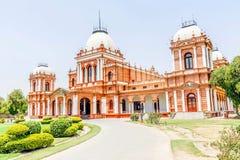 Architettura antica, Noor Mahal, Nawab di Bahawalpur Noor Palace, Bahawalpur, Pakistan immagine stock libera da diritti