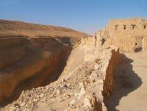 Architettura antica - oasi della montagna Fotografia Stock