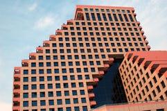 Architettura arancione immagine stock